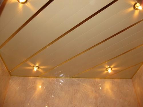 Как выбрать алюминиевые потолки для ванной