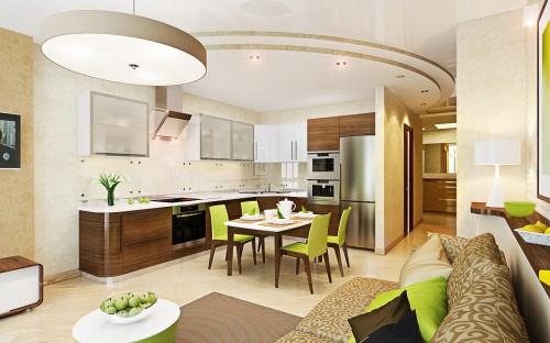 Как добавить простора в небольшую однокомнатную квартиру