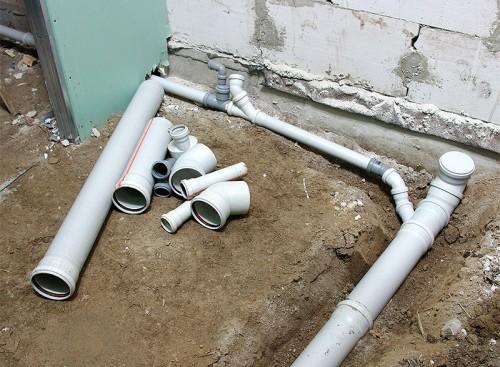 Устройство канализации и туалета в загородном коттедже и на даче