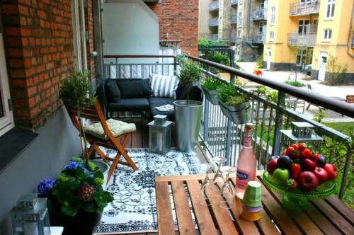 Балкон как место отдыха