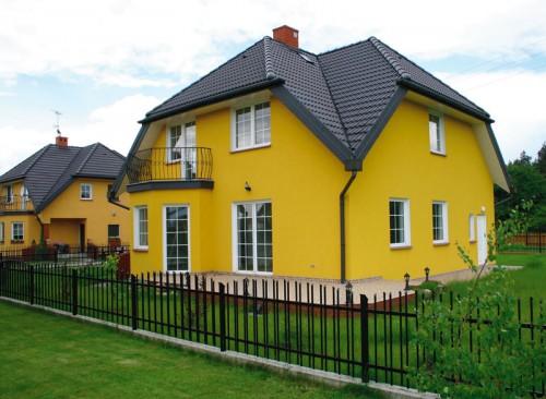 Фасадная краска – оптимальный вариант наружной отделки стен