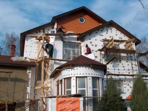 Утепляем стены дома снаружи