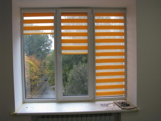 Ролеты из ткани на окна своими руками 33