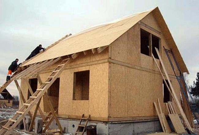 Каркасное домостроение в Артеме