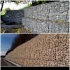 Укрепление берегов габионными конструкциями