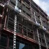 Мачтовый фасадный подъемник (электрический строительные лес)