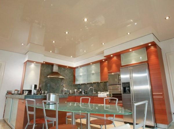 Потолок кухни