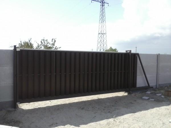 Ворота откатные в херсоне ворота въездные с электроприводом