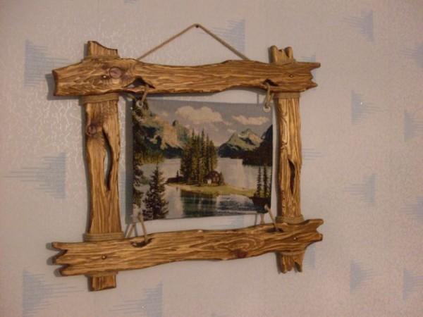Деревянные рамки для зеркала своими руками
