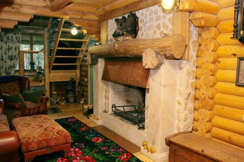 Отопление в доме из бруса