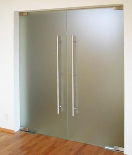 фото стеклянные двери в квартире
