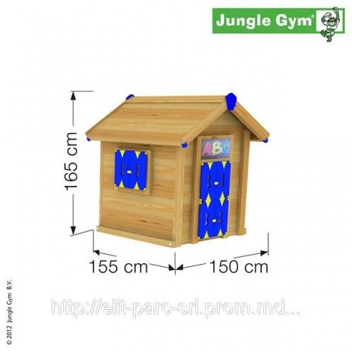 Детский домик из дерева схема