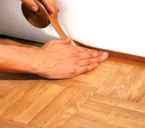 Как постелить линолеум своими руками на старый линолеум