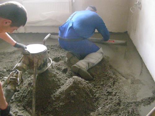 Как сделать пол из песка 727