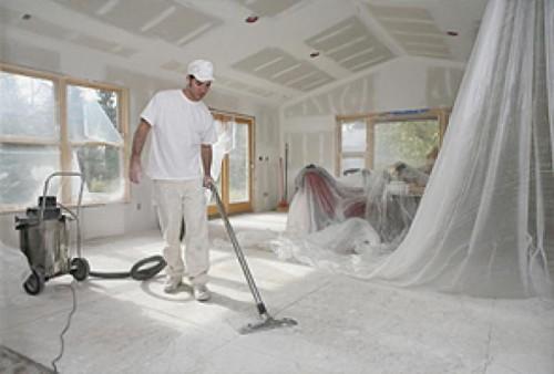 Уборка после ремонта. Подготовка объектов к сдаче.