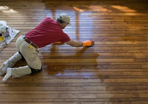Восстановление деревянных полов.