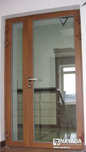 Противопожарные декоративные стеклянные двери