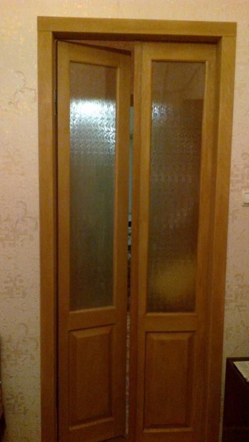 Оклейка дверей шпоном