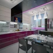 Квартира в Москве (кухня)