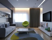 Однокомнатная квартира для девушки