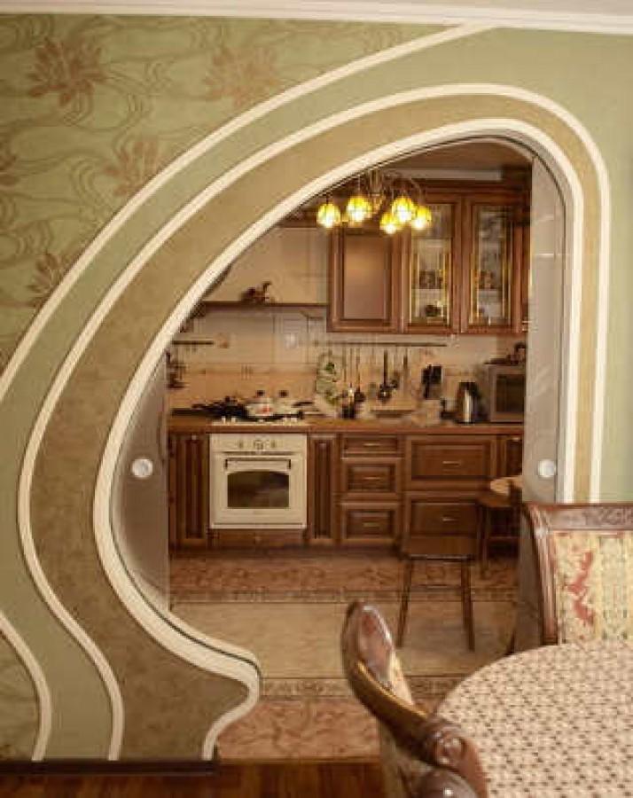 Рекомендации по обустройству арки на кухне - otvetvoprosov.r.
