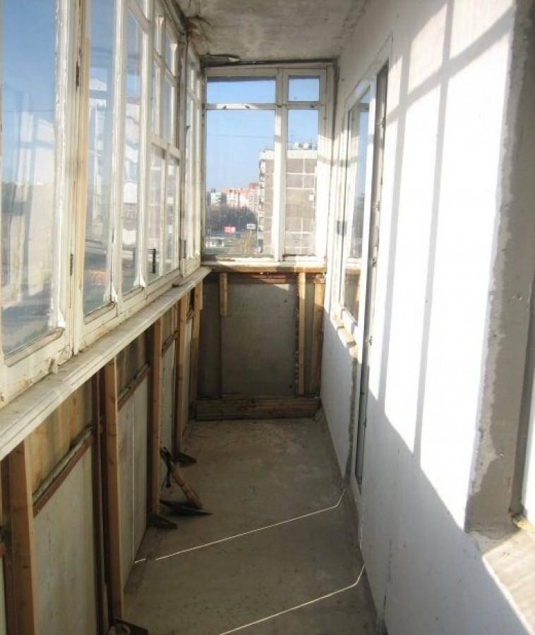 Пол на балконе хрущевки фото.