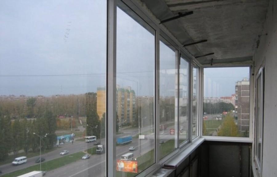 Остекление балкона пошаговая.