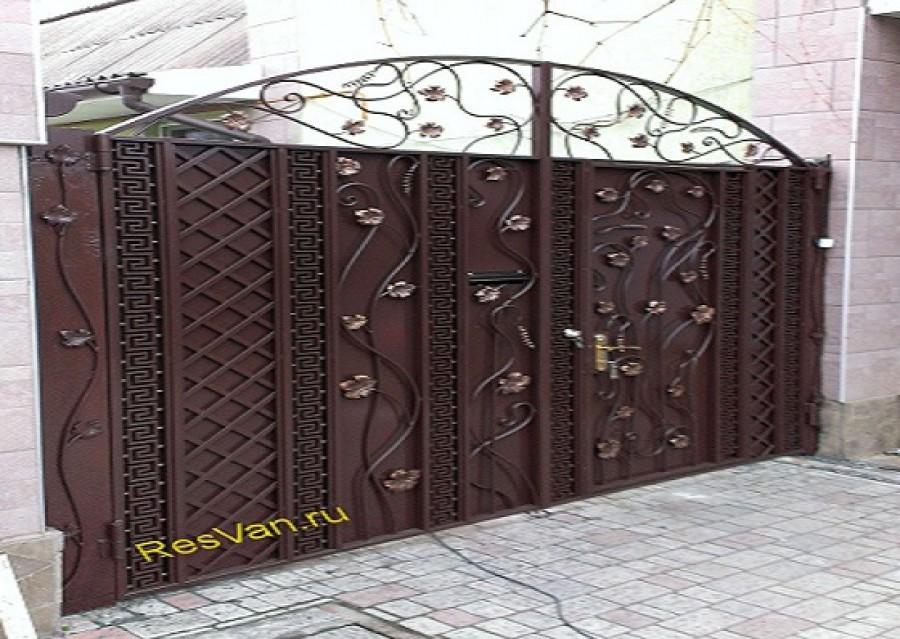 Изготовление ворот,дверей, перил,заборов,беседок