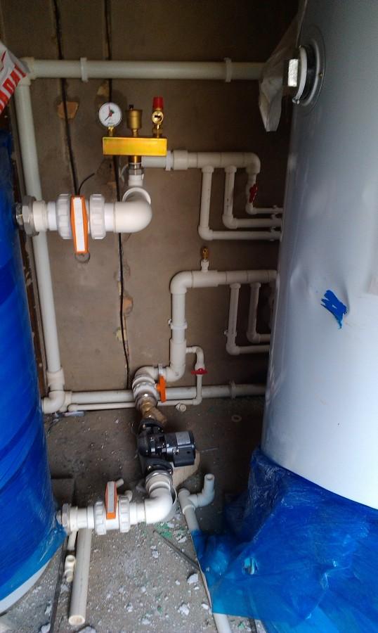 Монтаж трубопроводов систем отопления