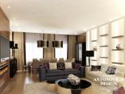 Яркий дизайн современной квартиры от Luxury Antonovich Desig