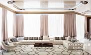 Дизайн гостиной в современном стиле от Luxury Antonovich Des